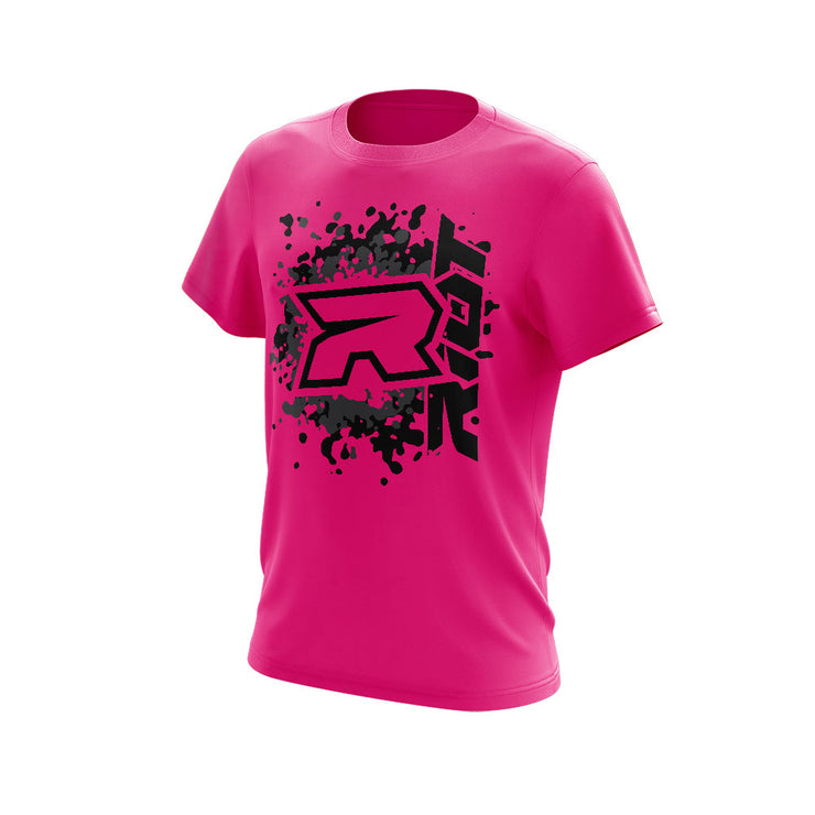 **NEW** Highlighter Series Neon Pink Short Sleeve with Riot Logo