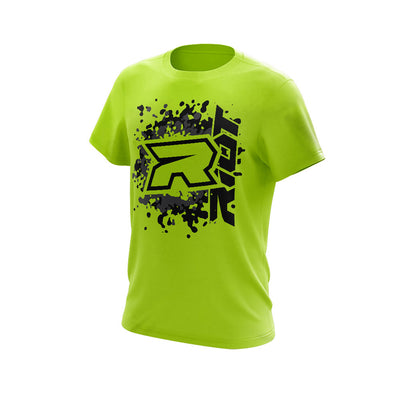 **NEW** Highlighter Series Neon Yellow Short Sleeve with Riot Logo