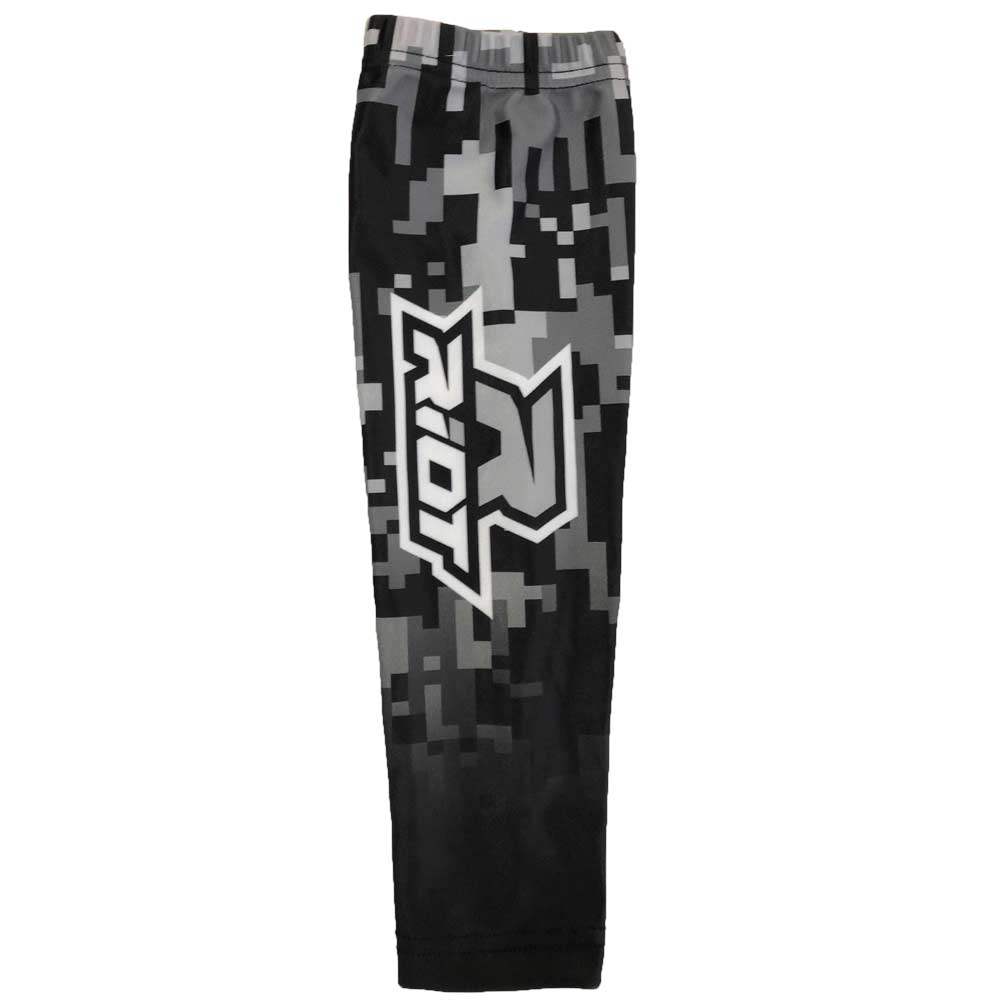 Black Digi Camo Riot Arm Sleeve