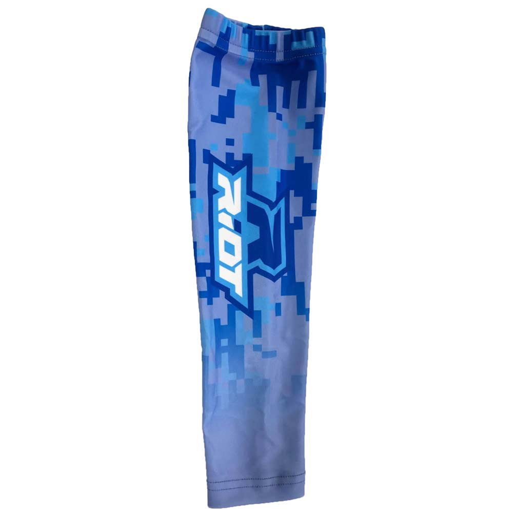 Royal Blue Digi Camo Riot Arm Sleeve