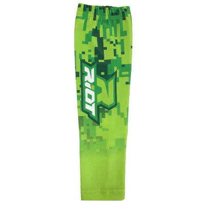 Green Digi Camo Riot Arm Sleeve