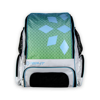 Rip-It Gameday Softball Backpack - Aqua Lime Ombre