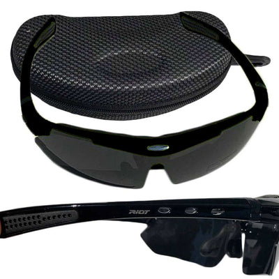 Raptorz Black Riot Sunglasses