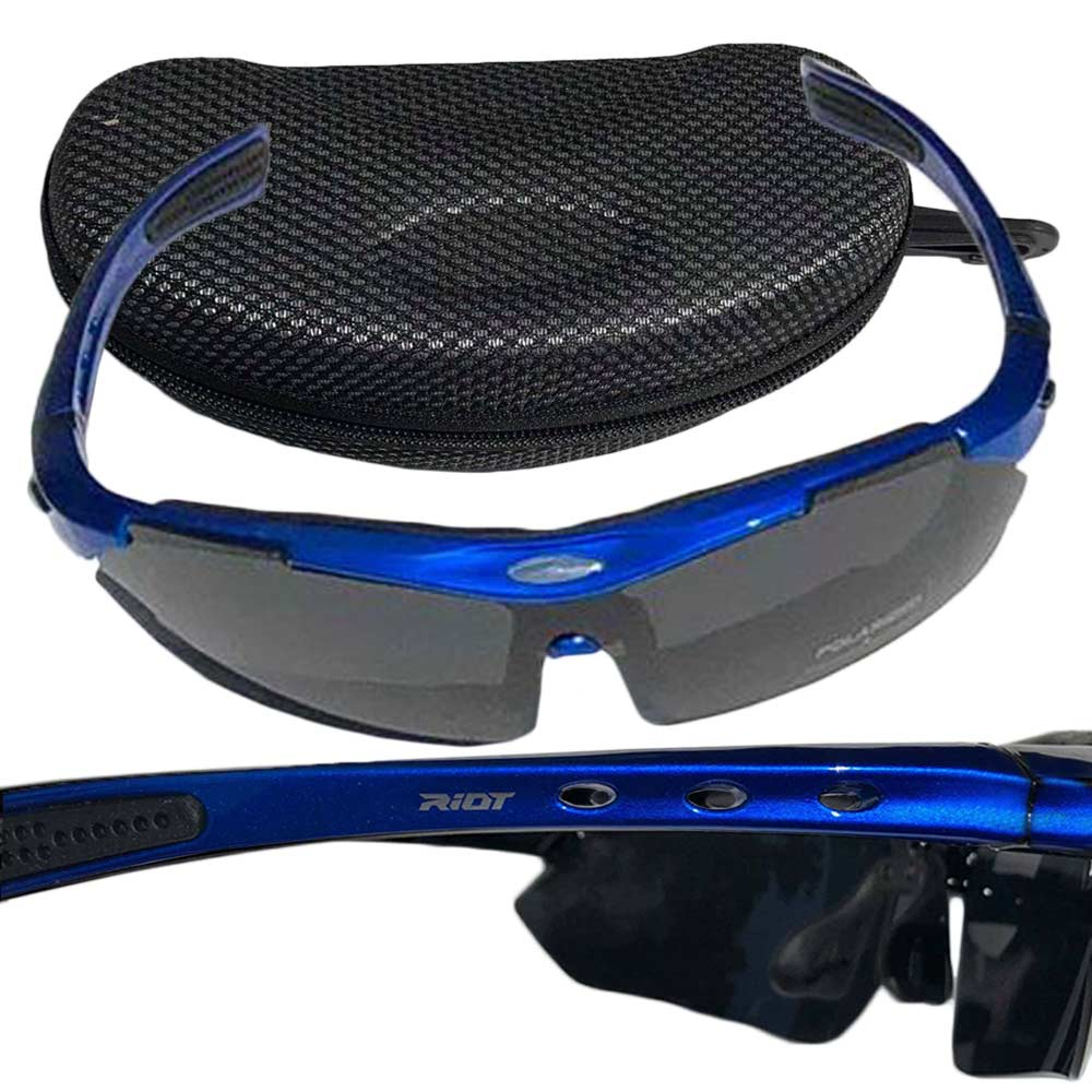 Raptorz Royal Blue Riot Sunglasses