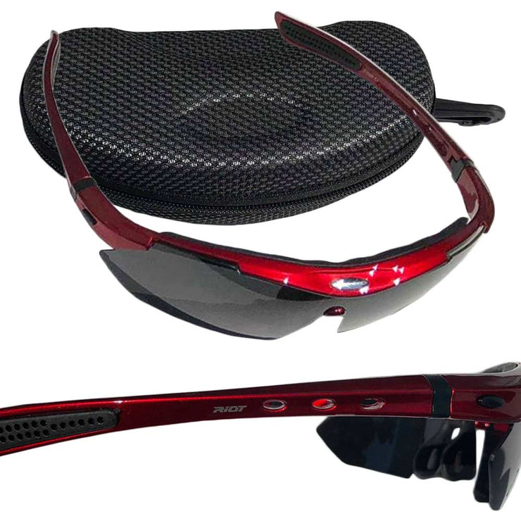 Raptorz Red Riot Sunglasses