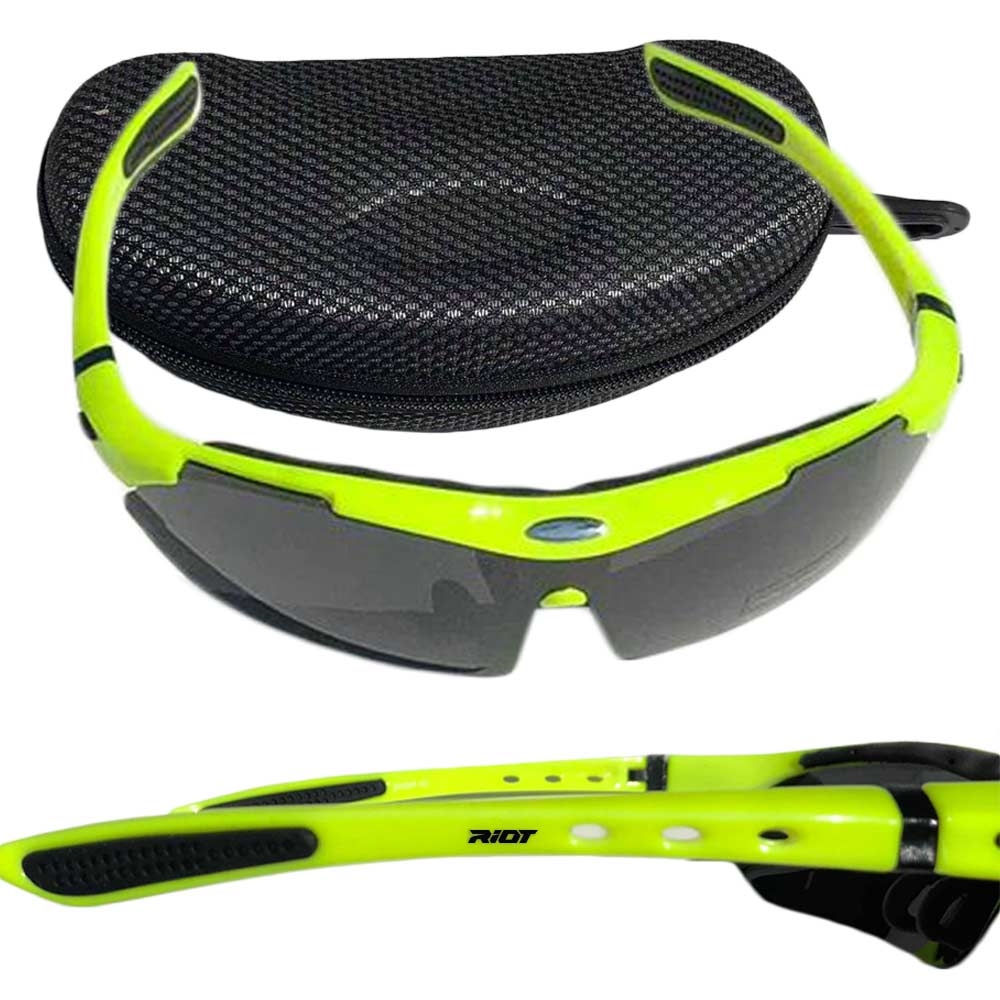 Raptorz Yellow Riot Sunglasses