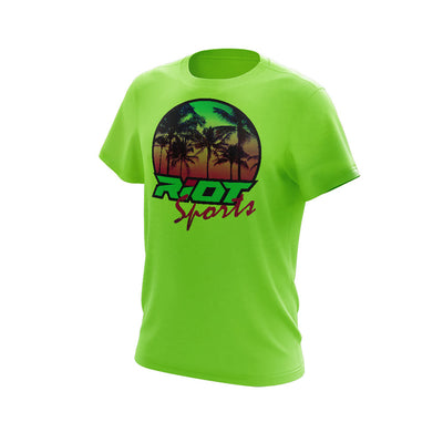 **NEW** Shirt of week - Riot Sunset Logo - Choose your shirt color/style -Custom Back
