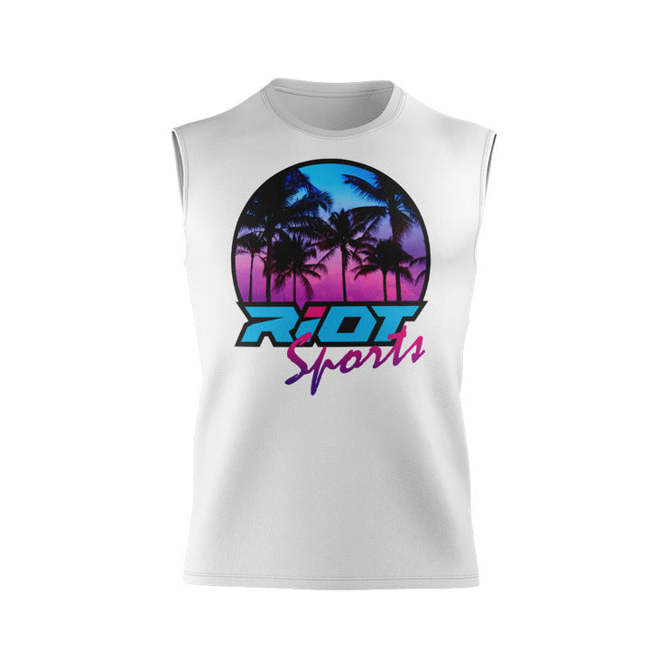 **NEW** Shirt with Riot Sunset Logo - Choose your shirt color/style -Custom Back