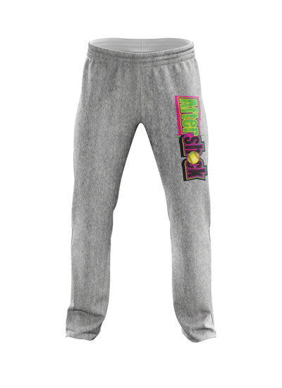 Heather Grey Sweatpants with Aftershock 9U Logo