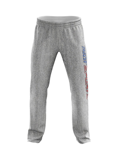 Heather Grey Sweatpants with USA Riot Logo