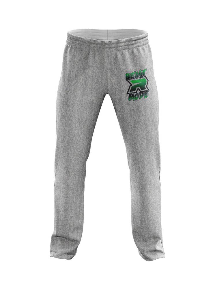 **NEW** Heather Grey Sweatpants with Beast Mode Riot Logo