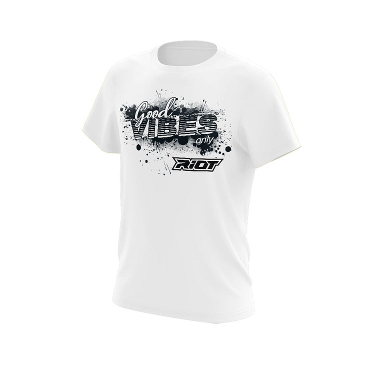 Triblend Shirt with Good Vibes Riot Logo - Choose your shirt & logo