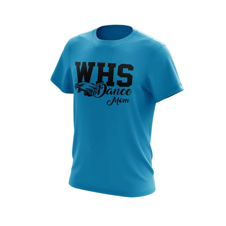 WHS Men's Short Sleeve with WHS Dance Mom Logo - choose your color shirt