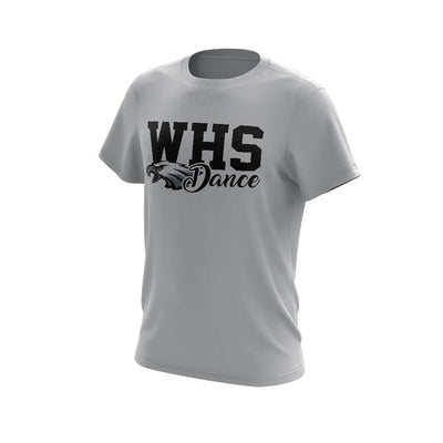 WHS Men's Short Sleeve with WHS Dance Logo - choose your color shirt