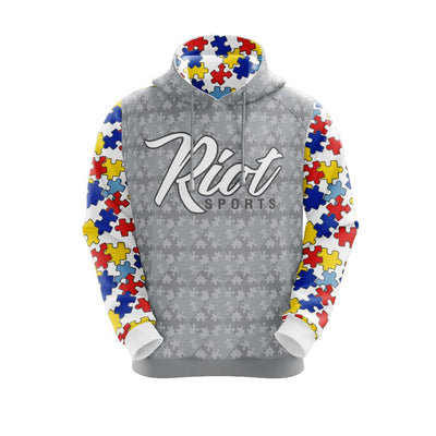 2021 Autism Full Dye Riot Hoodie Preorder - Customizable