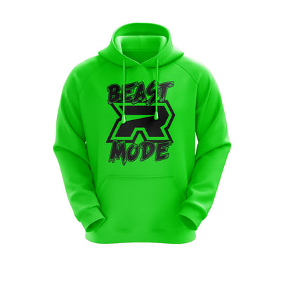 **NEW** Neon Green Hoodie w/ Beast Mode Riot Logo