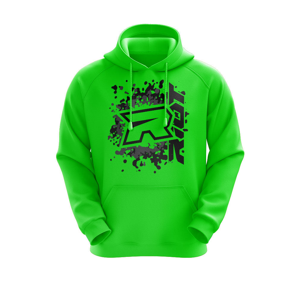 **NEW** Highlighter Series Neon Green Hoodie w/Riot Logo