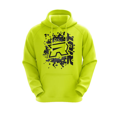 **NEW** Highlighter Series Neon Yellow Hoodie w/Riot Logo