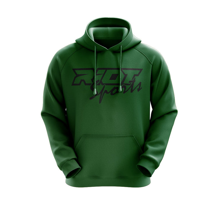 **NEW** Colored Hoodie with Black Riot Logo - Choose Hoodie Color & Logo