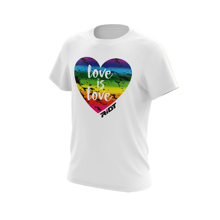**New** Shirt with Love Grunge Riot Logo - Choose your shirt style