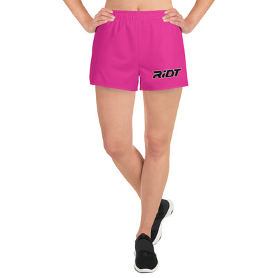 Riot Hot Pink Women's 4 Way Stretch Shorts