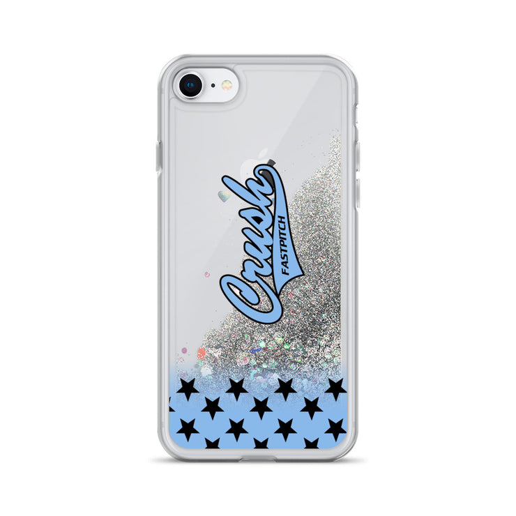 Crush Fastpitch Liquid Glitter Phone Case