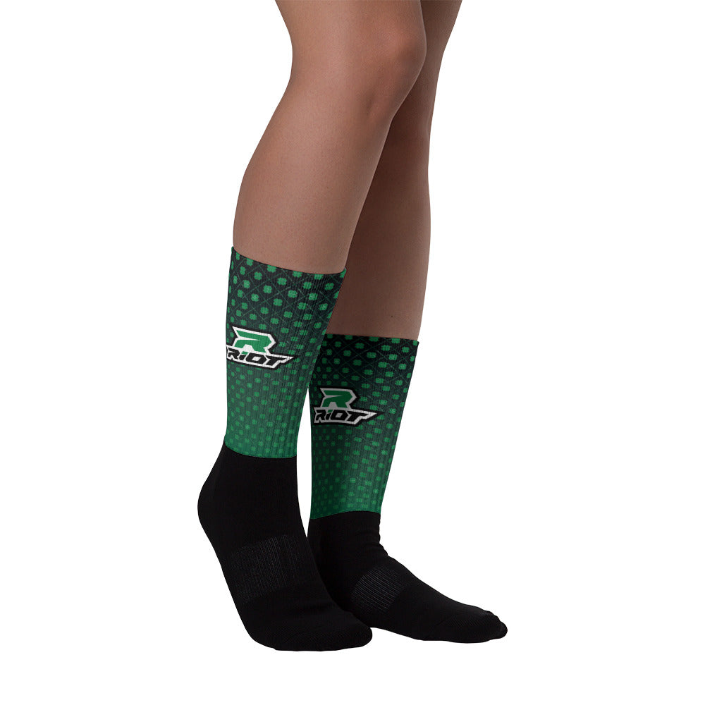 St Pattys Full Dye Riot Socks