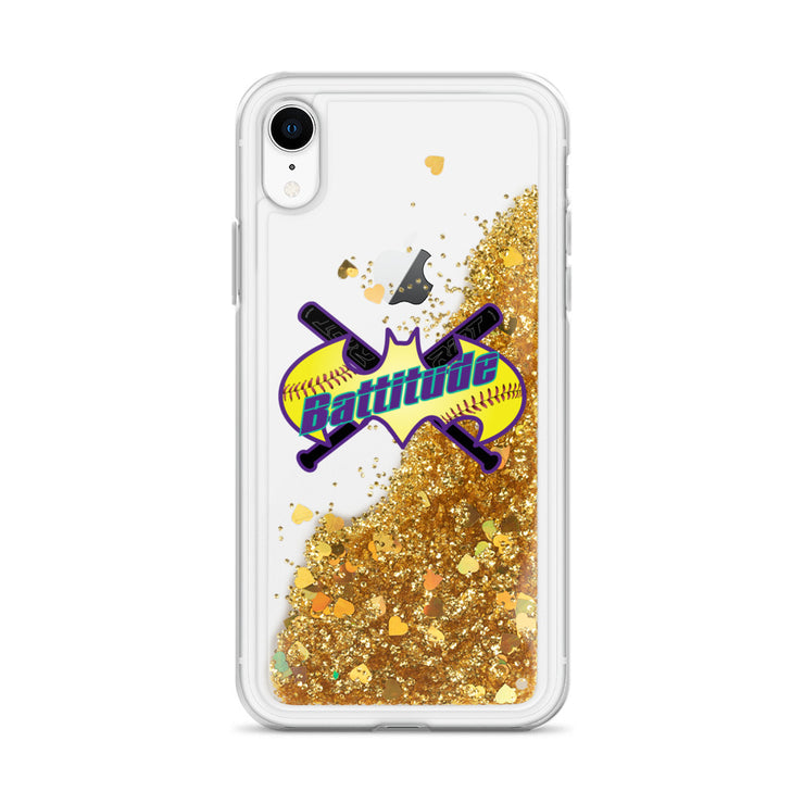 Battitude Liquid Glitter Phone Case
