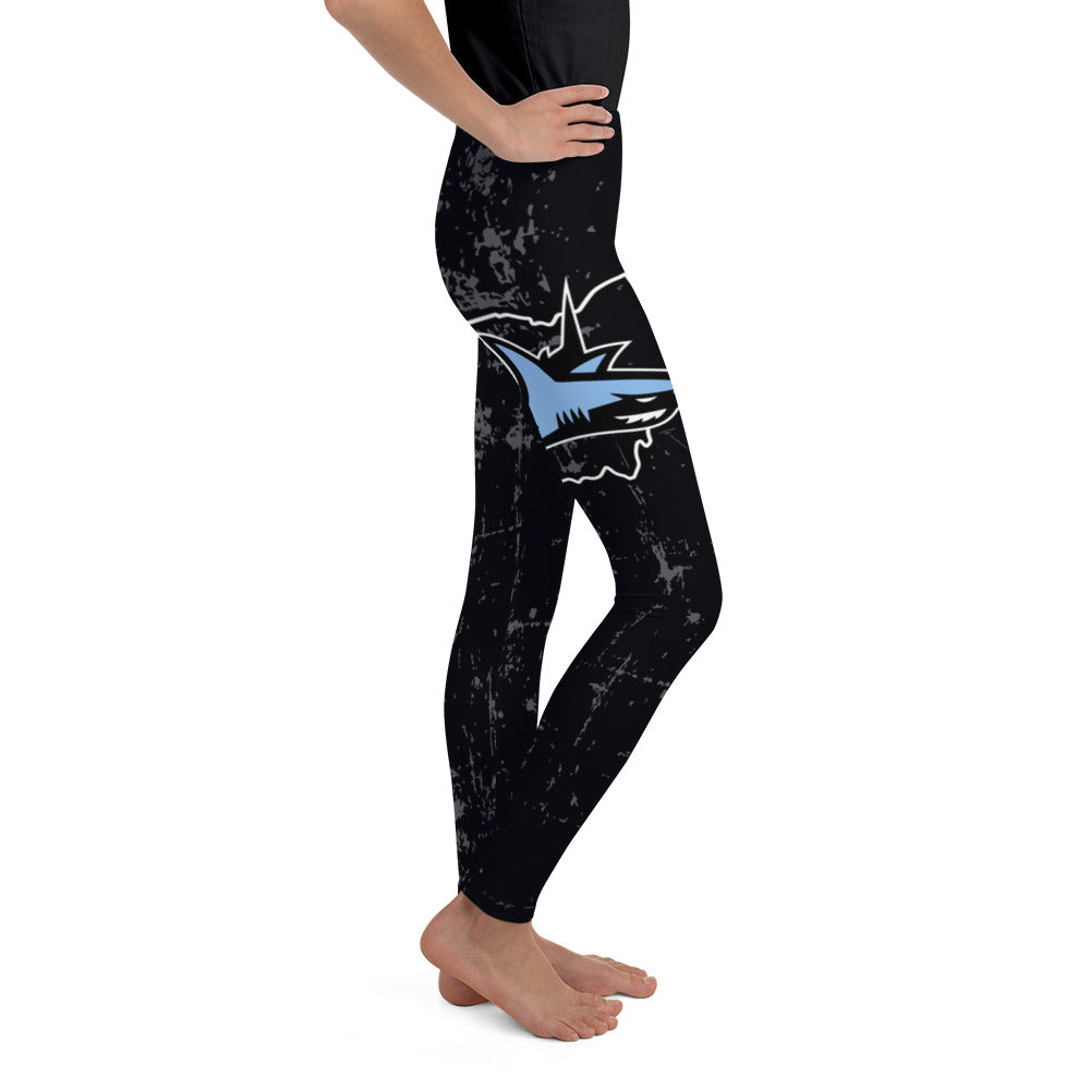 Sharks Full Dye Youth Leggings
