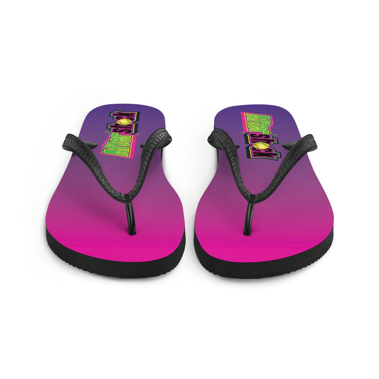 Flip-Flops with Aftershock 9U Logo