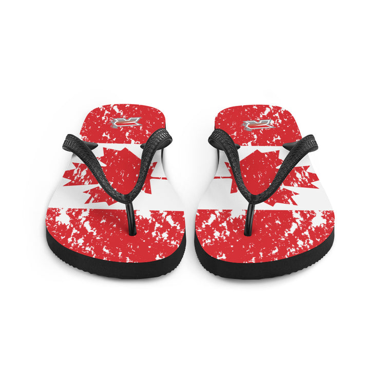 Canada Sublimated Riot Flip Flops