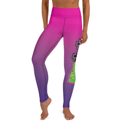 Aftershock 9U Full Dye Yoga Full Length Leggings
