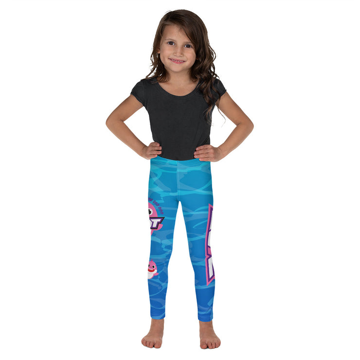 Baby Shark Full Dye Kid's Leggings