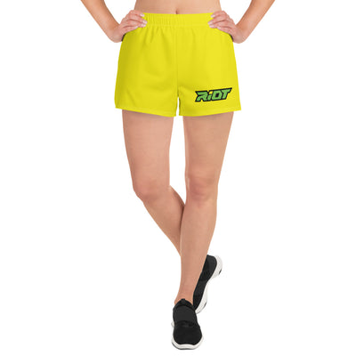 Riot Yellow Women's 4 Way Stretch Shorts