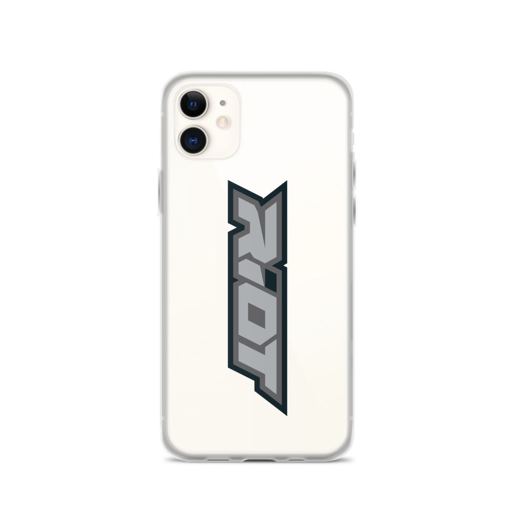Grey Riot Logo iPhone Case