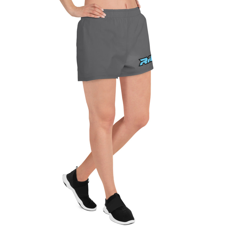 Riot Charcoal Women's 4 Way Stretch Shorts