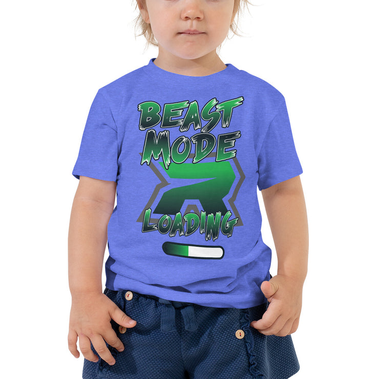 Beast Mode Loading Riot Toddler Short Sleeve Tee - Pick your shirt color