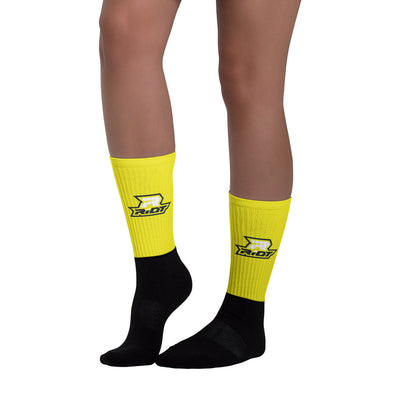 Yellow Full Dye Riot Socks
