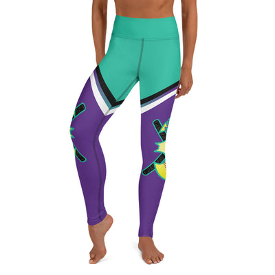 Battitude Full Dye Yoga Full Length Leggings