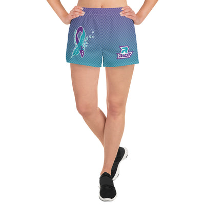 Riot Suicide Awareness Women's 4 Way Stretch Shorts