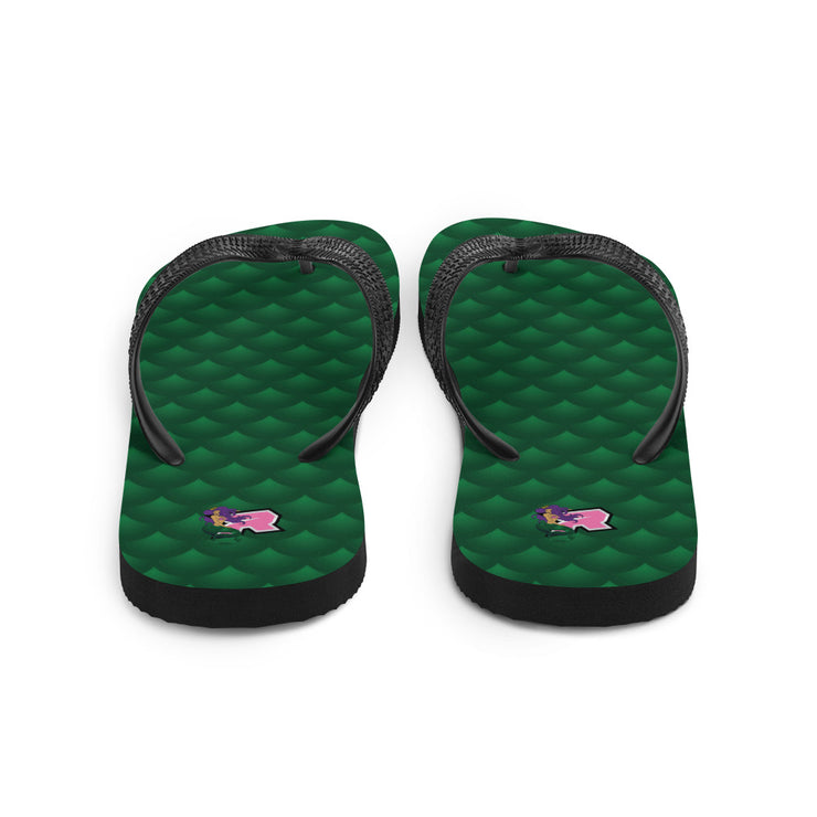 Mermaid Sublimated Riot Flip Flops