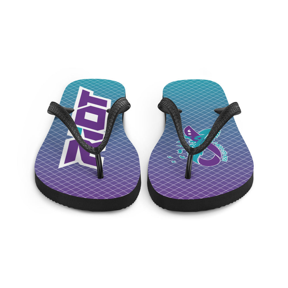 Suicide Awareness Sublimated Riot Flip Flops