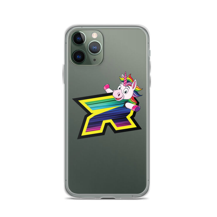 Unicorn Riot Logo iPhone Case