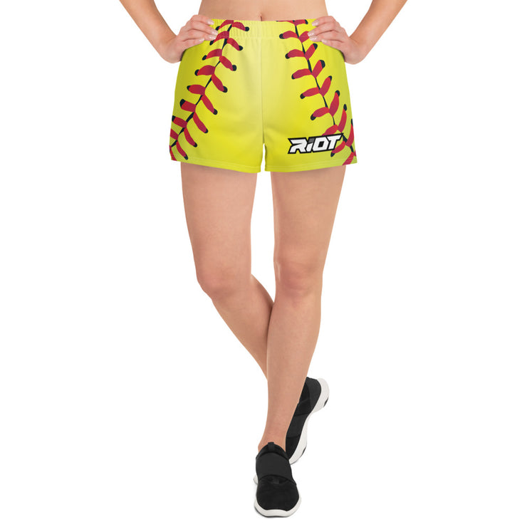Riot Softball Women's 4 Way Stretch Shorts