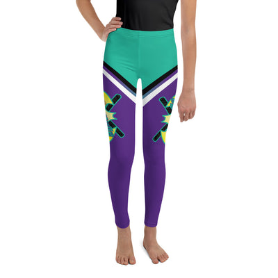 Battitude Full Dye Youth Leggings