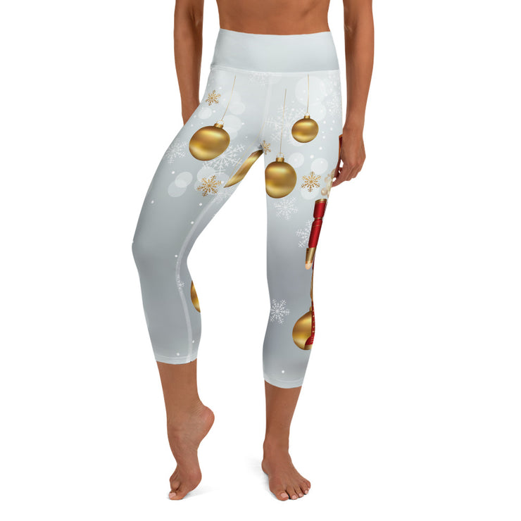 Nutcracker Yoga Capri Leggings