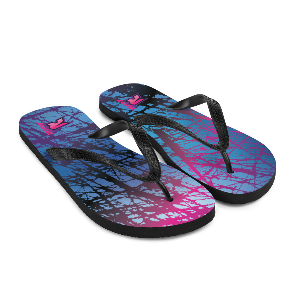 Chaos Sublimated Riot Flip Flops