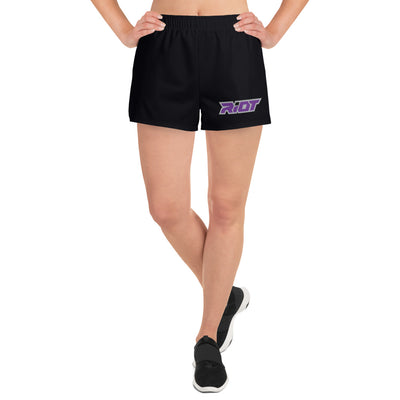 Riot Black Women's 4 Way Stretch Shorts