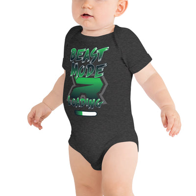 Beast Mode Loading Riot Baby Short Sleeve Onesie - Pick your shirt color