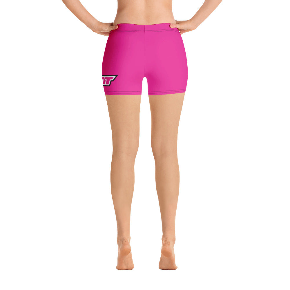 Hot Pink Full Dye Reg Waistband Shorts